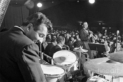 Big Band Photograph - Gene Krupa And Benny Goodman Performing by The Harrington Collection