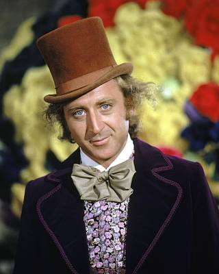 Wonka Photograph - Gene Wilder In Willy Wonka & The Chocolate Factory  by Silver Screen