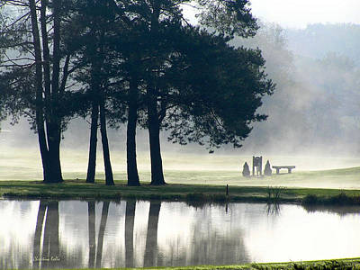 Sports Royalty-Free and Rights-Managed Images - Genegantslet Golf Club by Christina Rollo