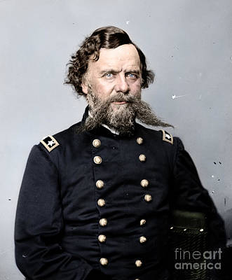 Politicians Royalty-Free and Rights-Managed Images - General Alpheus S Williams by Celestial Images