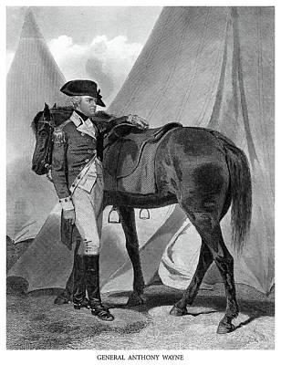 American Revolution Painting - General Anthony Wayne by Historic Image