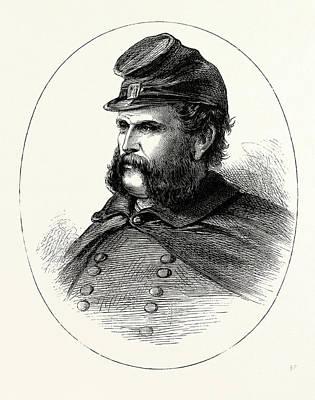 General Burnside, He Was An American Soldier Art Print