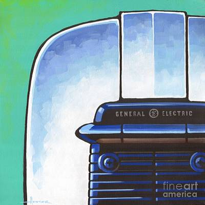 Painting - General Electric Toaster by Larry Hunter