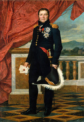 Maurice Painting - General Etienne-maurice Gerard by Jacques-Louis David