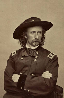 General George Armstrong Custer 1865 Art Print by Mountain Dreams