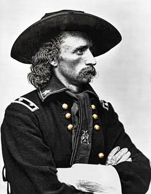 General George Armstrong Custer  Art Print