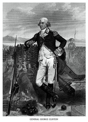 American Revolution Painting - General George Clinton by Historic Image