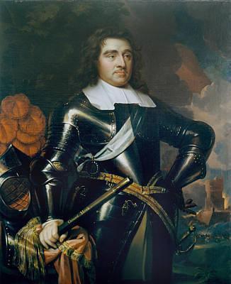 General George Monk 1st Duke Art Print by Samuel Cooper