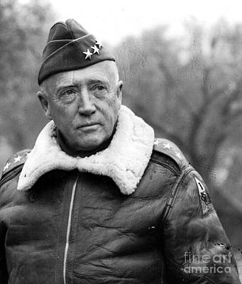Photograph - General George Smith Patton Jr by Roberto Prusso