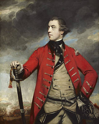 General Concept Painting - General John Burgoyne by Mountain Dreams