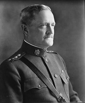 Pershing Photograph - General John J Pershing 1920 by Mountain Dreams