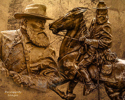 Photograph - General Longstreet by Lisa and Norman  Hall
