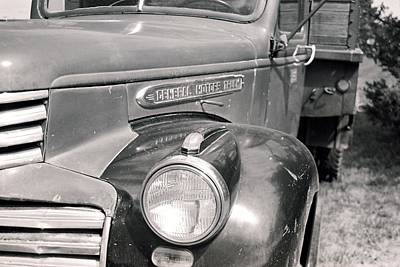 Photograph - General Motors Truck by HW Kateley