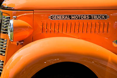 Mountain Landscape Royalty Free Images - General Motors Truck Royalty-Free Image by Mark Spowart