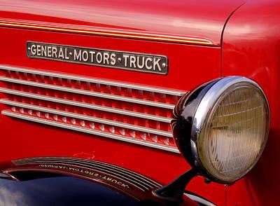 General Motors Truck Art Print