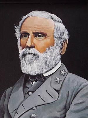Robert E Lee Painting - General R.e. Lee by Martin Schmidt
