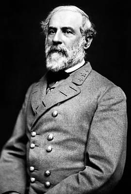 General Robert E Lee 1862 Art Print by Mountain Dreams