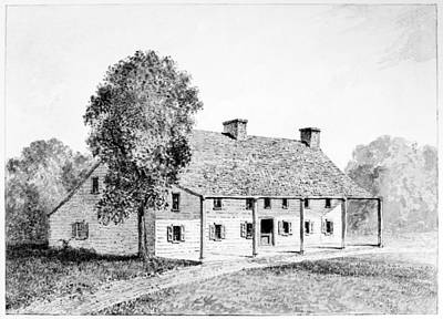 Painting - General Schuyler's House by Granger