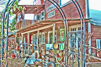 Photograph - General Store by Audreen Gieger