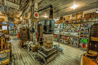 Photograph - Mast General Store In Valle Crucis by Erwin Spinner