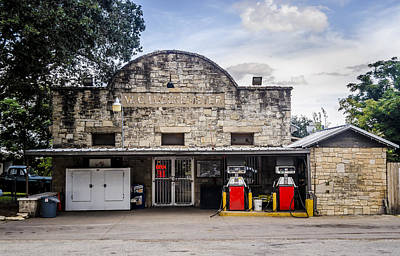 Photograph - General Store In Independence Texas by David Morefield