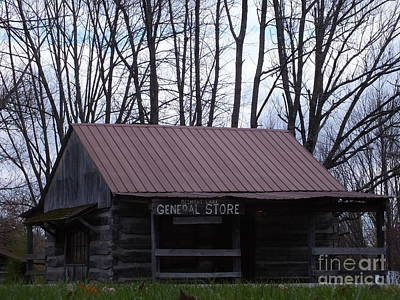 Photograph - General Store by Melissa Lightner