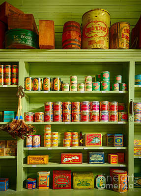 General Store Photograph - General Store Merchandise by Inge Johnsson