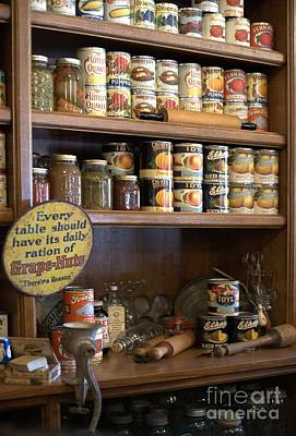 Photograph - General Store - Shelf Items by Liane Wright