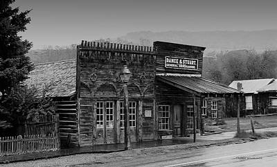General Store Virginia City Montana Art Print by Thomas Woolworth