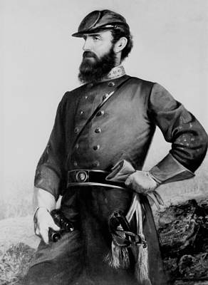 Stonewall Jackson Painting - General Thomas Stonewall Jackson by Mountain Dreams