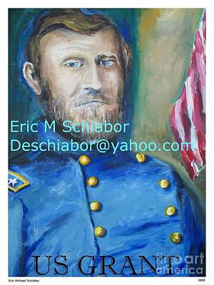 Landscapes Painting - General Us Grant  by Eric  Schiabor