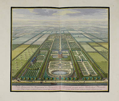 General View Of The Estate Of Heemstede Art Print by British Library