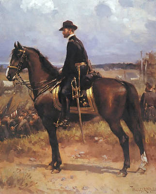 Concept Painting - General William T Sherman by Mountain Dreams