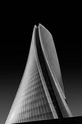 City Life Photograph - Generali Skyscraper by Luca