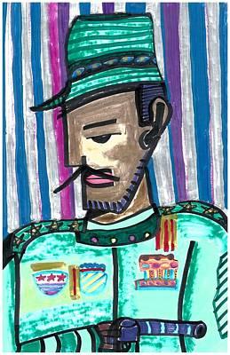 Generalissimo Diego  Art Print