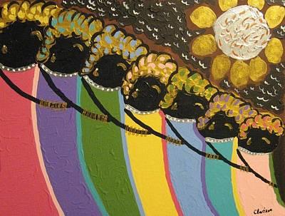 Painting - Generations by Clarissa Burton