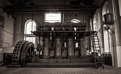 Generator Art Print by Akos Kozari