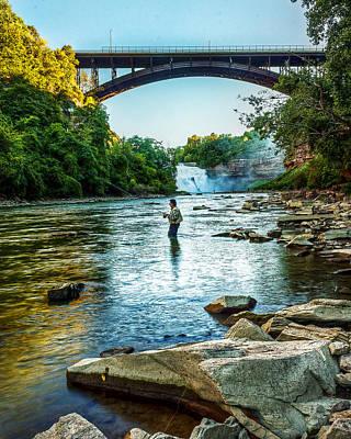 Genesee River  Art Print by Tim Buisman