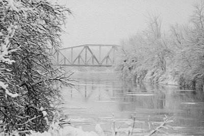 Genesee River Art Print