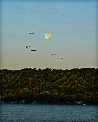 Photograph - Geneseo Air Show by Richard Engelbrecht