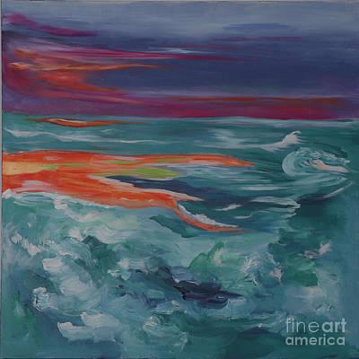 Painting - Genesis IIi by Sharon Worley