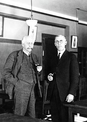Harvard Photograph - Geneticists Bateson And Emerson by American Philosophical Society