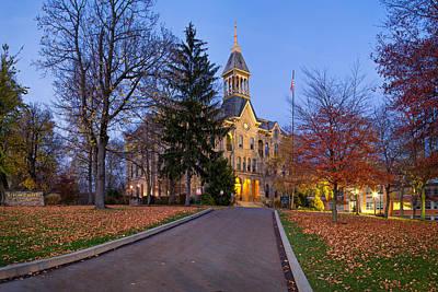 Photograph - Geneva College by Emmanuel Panagiotakis