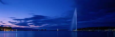 Lake Leman Photograph - Geneva Switzerland by Panoramic Images