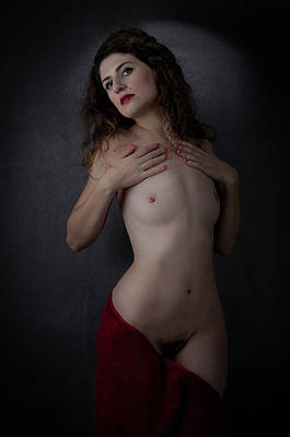 Pubic Hair Photograph - Genevieve C1 No.2 by Filtered Photo