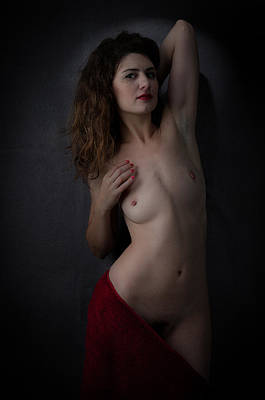 Pubic Hair Photograph - Genevieve C1 No.3 by Filtered Photo