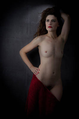 Pubic Hair Photograph - Genevieve C1 No.4  by Filtered Photo