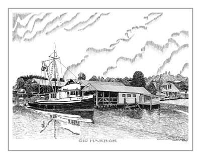 Fishing Trawler Genius Formaly Of Gig Harbor Original
