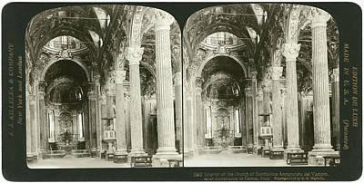Genoa Basilica, 1908 Art Print by Granger