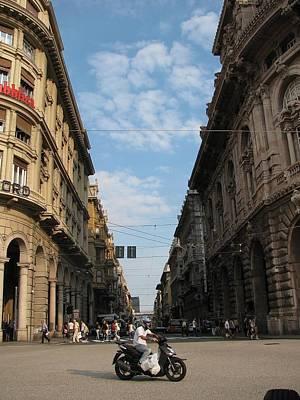 Genoa Italy Original by Brian Howard